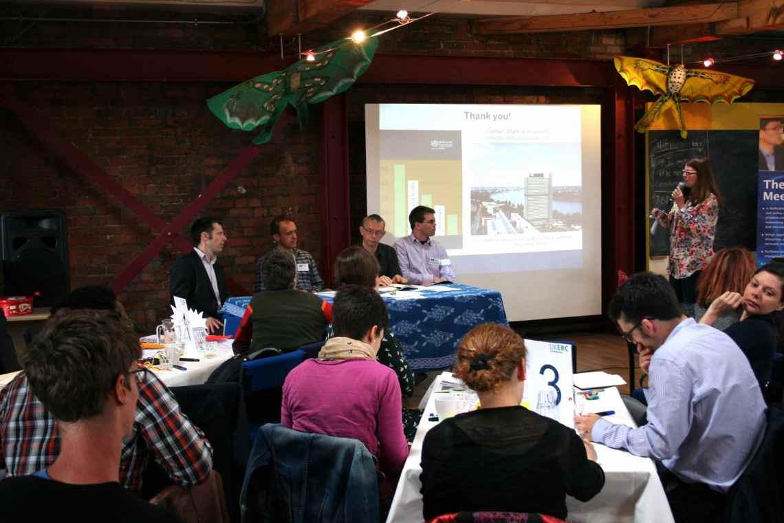 Speakers at the third colloquium session