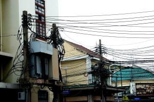 Wire poles  Bangkok
