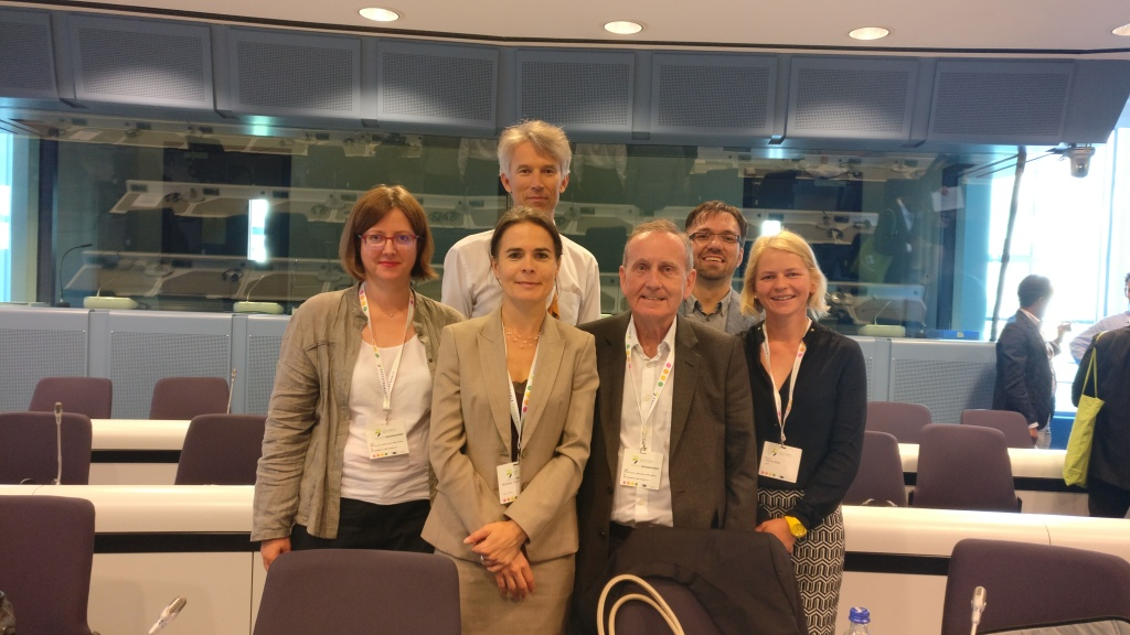 Speakers at the EUSEW session. Photo credit: Ute Dubois